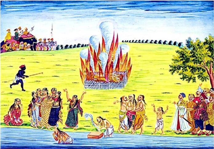 সতীদাহ কি হিন্দু ধর্মের প্রথা